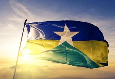 medidas econômicas contra a pandemia - bandeira do estado de Rondônia