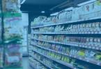 Ex-TIPI: O que é e como utilizar - prateleira de supermercado com vários produtos.