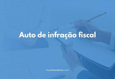 Auto de infração fiscal